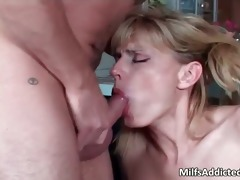 cute blond mother i sucks and rides rod part6