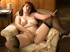 older smokin fetish sex session
