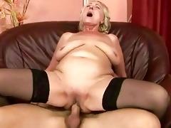 youthful chap fucking chunky grandma