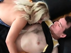 sexually excited and nasty blond older bitch with