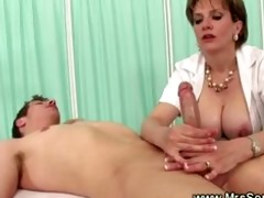d like to fuck gives explosive oily tugjob