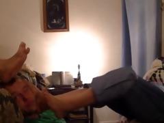 foot gagging