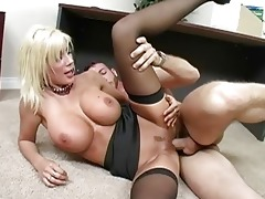 fascinating blond d like to fuck with large