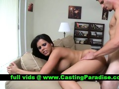 diamond kitty brunette anal fucking and gets