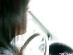fellatio in dad car