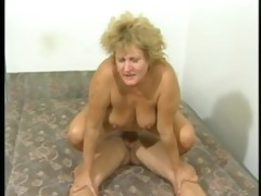 corpulent euro d like to fuck receives drilled