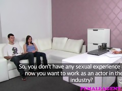 femaleagent angel and the geek try-out for hot