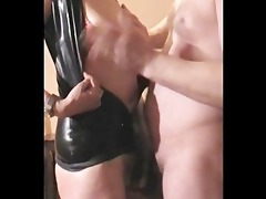 mrs b latex: hard titslap & o