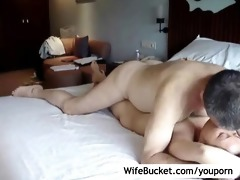 interracial pair hotel room sex tape