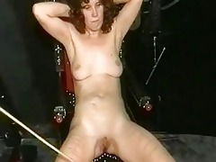 mama serf with great body receives serveral
