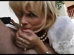 mamma sucks her step-sons dick then receives