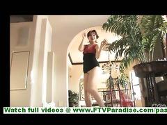 rita and madeline lesbian pair doing striptease