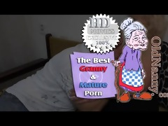 granny with bushy snatch fucking chap