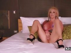 breasty woman fucking her moist pussy part11