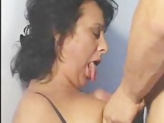 older latin chick bitches go ramrod diving!