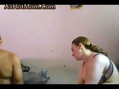 big beautiful woman arabian mommy and juvenile guy