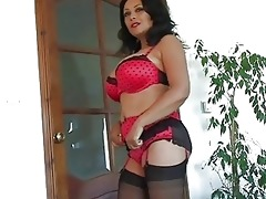 enormous chested darksome haired d like to fuck