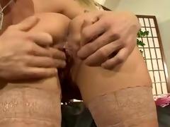 sexy german mom fucking on the ottoman