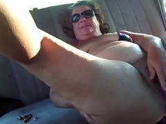 obese granny masturbation