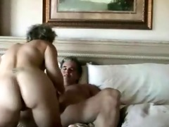older wife acquires anal penetration and facial
