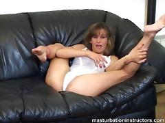 jerk off instructor demos proper masturbation on