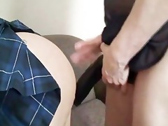 9 lesbo grannies and the large dark sex-toy 0 -