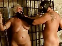 granny getting punished and screwed hard