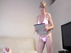 cumblast in bikini