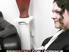 his wife leaves and big beautiful woman seduces