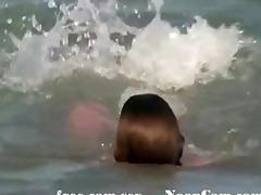 enjoyment in the sun hidden beach