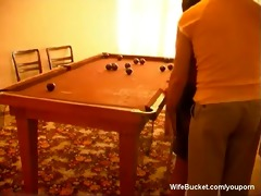 pool table fuck