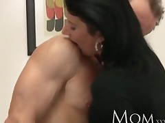 mama sexually excited d like to fuck makes her