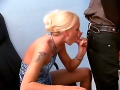 a tattooed d like to fuck engulf of her boss