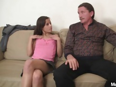 lascivious gf jumps on her bfs dad jock