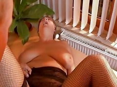 grandma acquires dicked hard from younger stud
