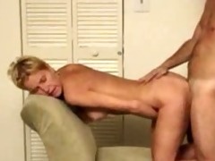 naughty wife from behind then cum overspread