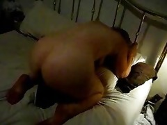 wife with large darksome sex toy up her