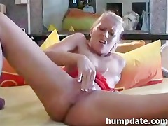 golden-haired d like to fuck inserts a biggest