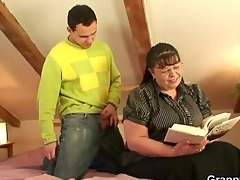 obese bookworm doxy acquires pounded by a stranger