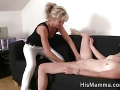 girlfriend acquires seduced by aged lesbo who