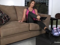 wife humiliates sock smelling spouse pov