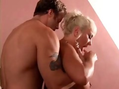large titties golden-haired aged fuck youthful lad