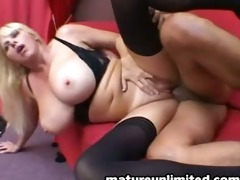 breasty mommy acquire insane fuck and engulf