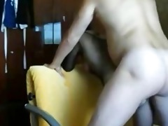 dilettante wife receives anal creampie