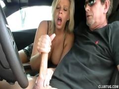 mamma carey learns stick shift - apr 56