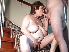 chunky dilettante wife toys and sucks and