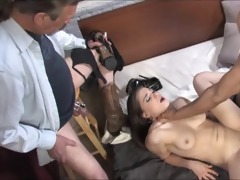 old cuckold eats dark cum out of his wifes ideal