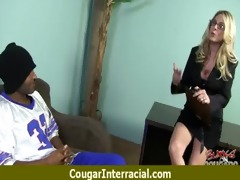 cougar pounce on dark shlong 8