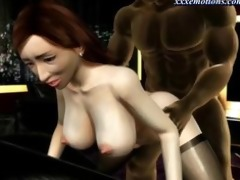 busty animated d like to fuck with nylons