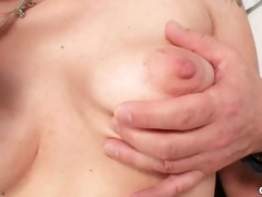 aged alena cookie speculum gyno exam at gyno